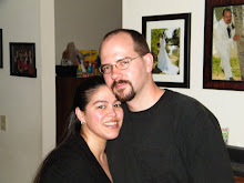 My sweet husband and I on my 32nd Bday