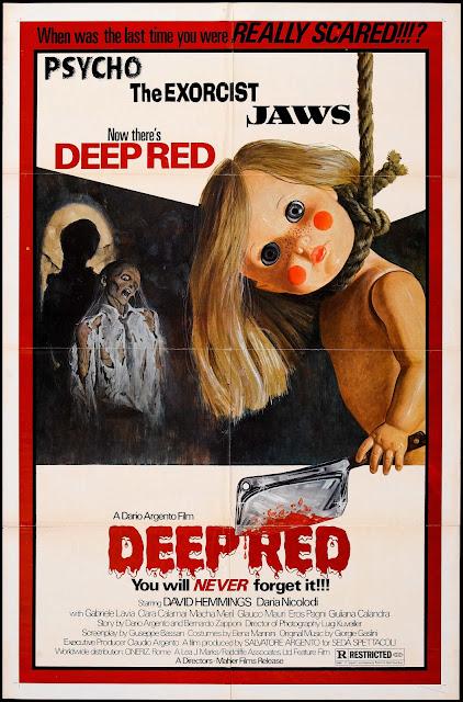 Deep Red / Profondo Rosso (1975) - Poster