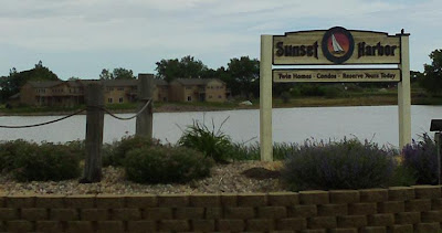 Sunset Harbor housing development sign