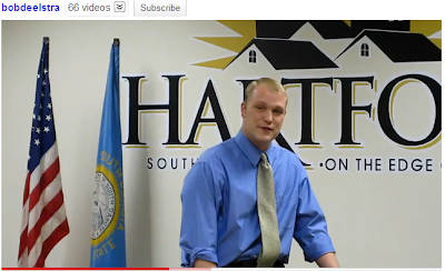 Deelstra campaign video in Hartford City Council chamber