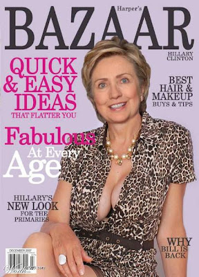 Hillary Clinton's cleavage