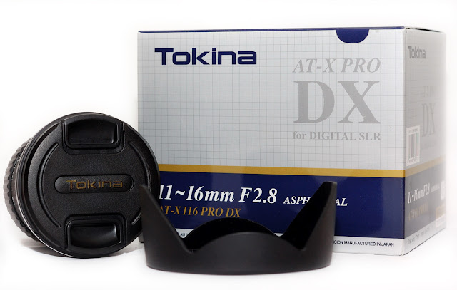 Tokina 11-16mm F2.8 AT-X 116 PRO DX Lens With Hood Package