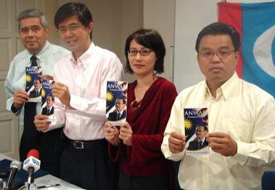 Elizabeth Wong Keat Ping Unveil Anwar Ibrahim book