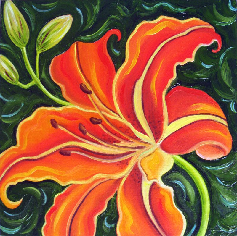 Images Of Famous Flower Paintings