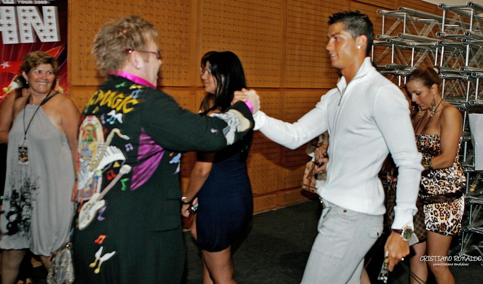 elton john´s pics: Elton John and Cristiano Ronaldo