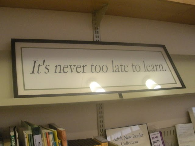 never too late to learn essay It's never too late to learn – if you go about it in the right way  collections, a  book of autobiographical essays, and a macarthur genius award.