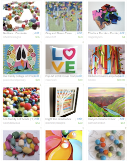 Etsy Treasury by Sara Montegue