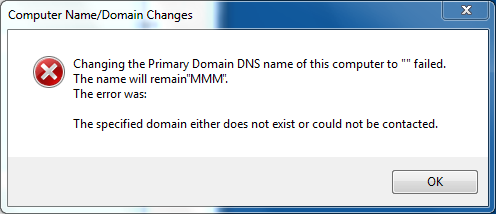 trust relationship between workstation primary domain failed samba windows 7