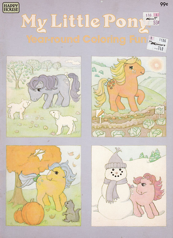 my little pony coloring book. My Little Pony Coloring