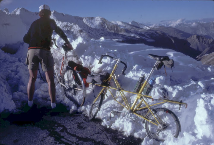 Moulton at Galibier