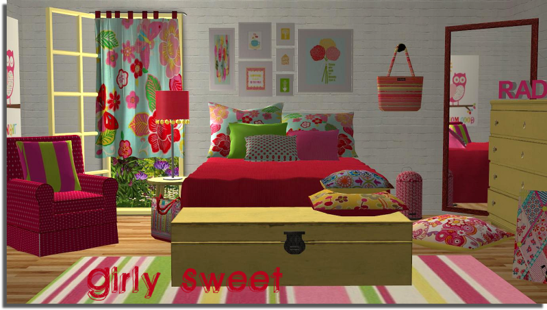 Swinger bed for sims 2