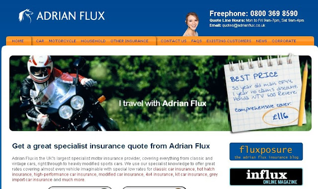 Adrian Flux Breakdown Cover & BreakDown Number Information