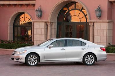 Toyota Recall for Lexus LS Sedans 2010