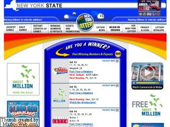 New York Lottery Result &amp; Mega Millions Winners - Www.NYLottery.org
