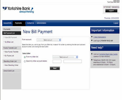 YBOnline Internet Banking - www.Ybonline.co.uk Login - Yorkshire Bank