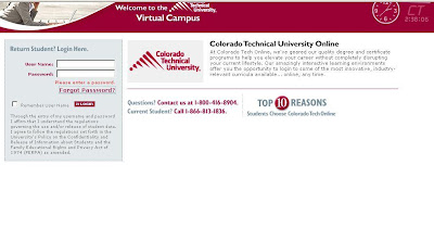 Ctuonline.edu | CTU Online Login | Colorado Technical University Online Login