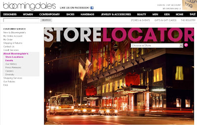 Bloomingdale's Locations - Map or Directory Locator