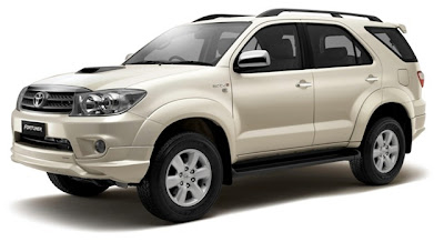 Toyota Fortuner Anniversary Limited Edition 2010 : Specifications & Price