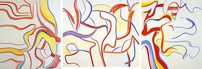 Willem de Kooning, Hallelujah triptych, 1985