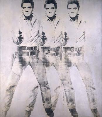 LE SYNDROME DE WARHOL de Cren et Cerqueux Warhol+Triple+Elvis+1963