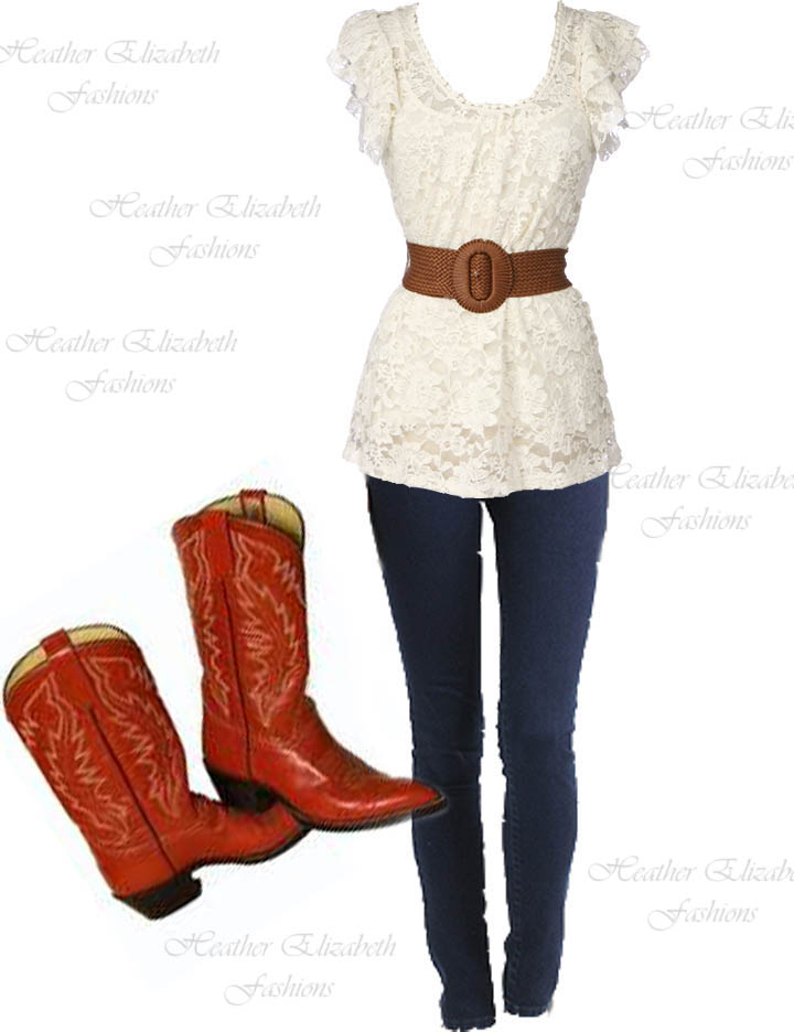 Missouri Girl How One Should Wear Her Cowgirl Boots )