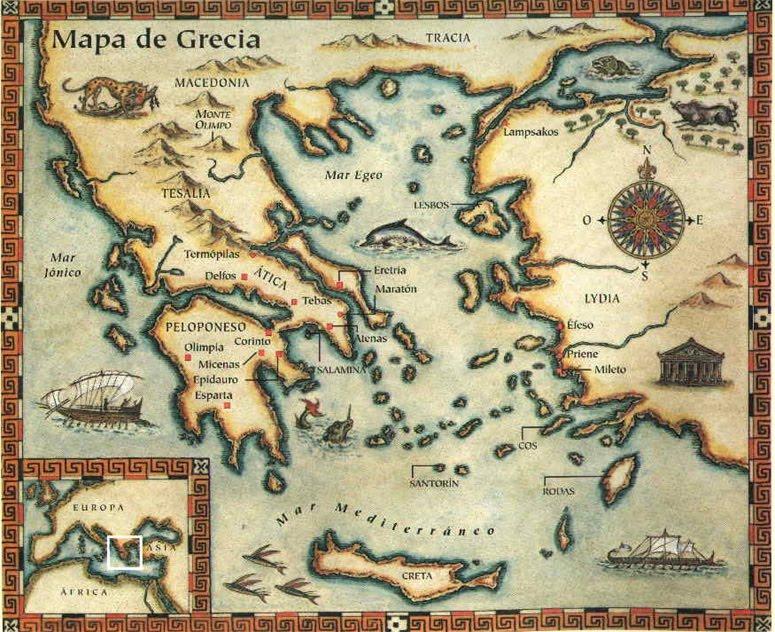 Historia de la psicolog a antigua grecia for Cultura de la antigua grecia