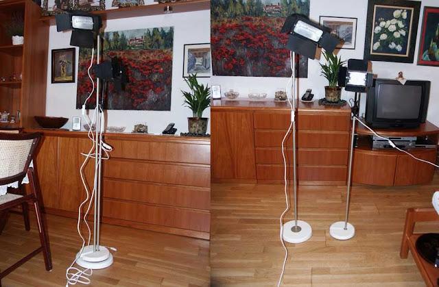 Cómo utilizar un pie de lámpara de Ikea como soporte para los focos de un estudio fotográfico casero. Construye y ahorra con Piratas de Ikea.