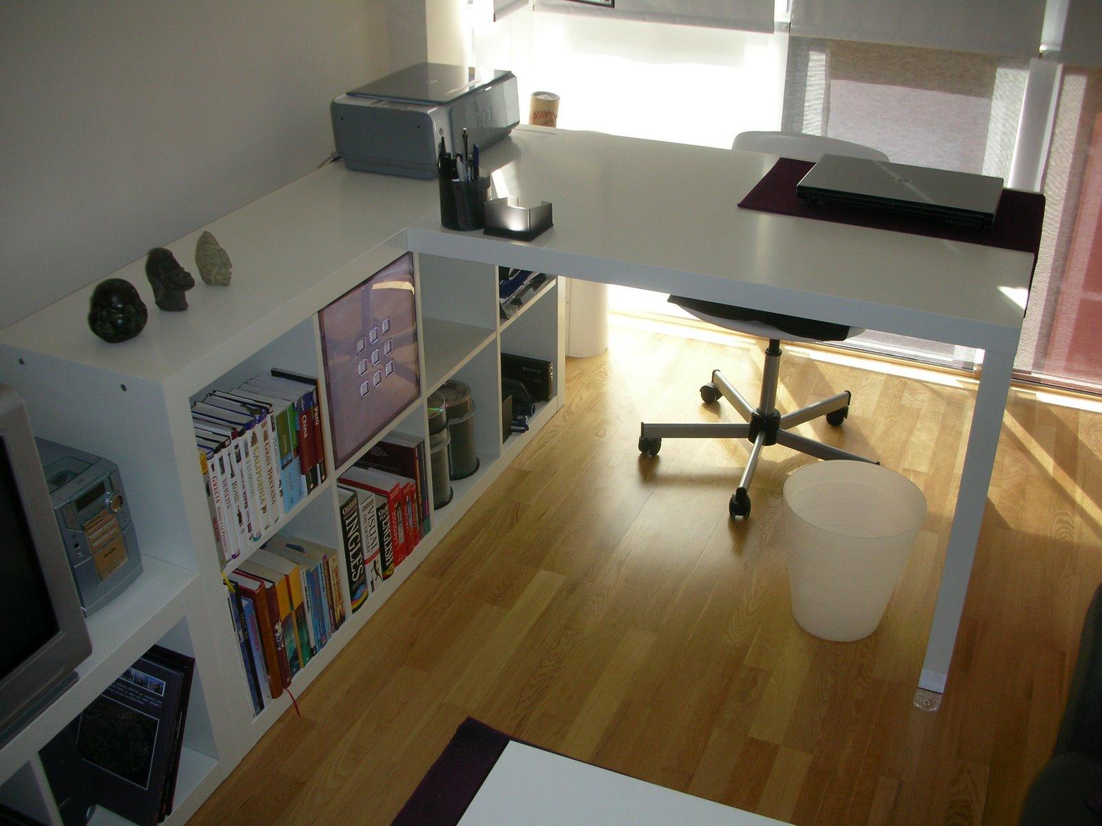Idea 2 poco espacio para tu escritorio de pc hazlo tu for Ideas para escritorios poco espacio