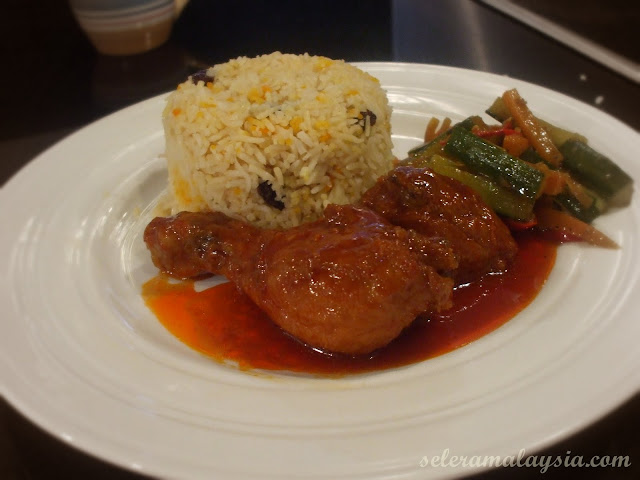 Nasi Biryani Ayam Madu
