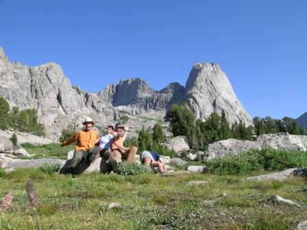 Wind River Mtns backpacking/climbing