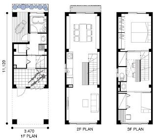 Tuunkul arquitectura dise o arte casas angostas for Diseno de casas angostas
