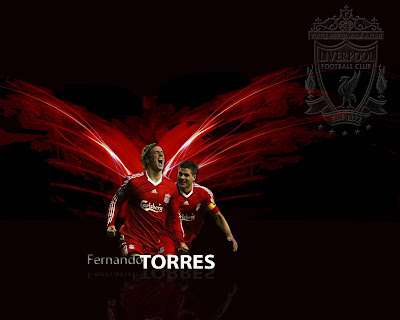 Fernando Torres Wallpaper - Flying With Liverpool