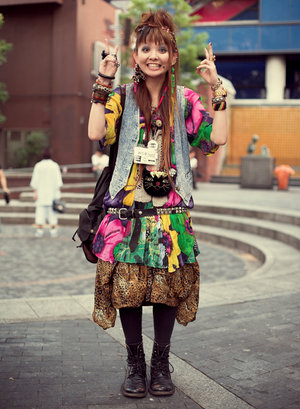 Harajuku Fashion Styles on Japan