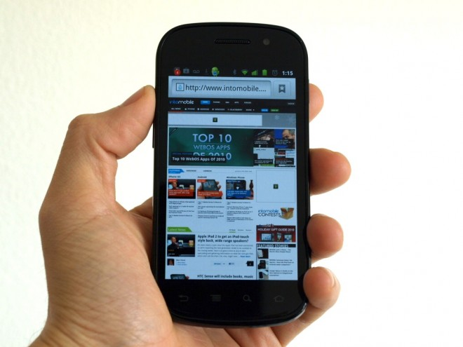 Google Nexus S Mobile