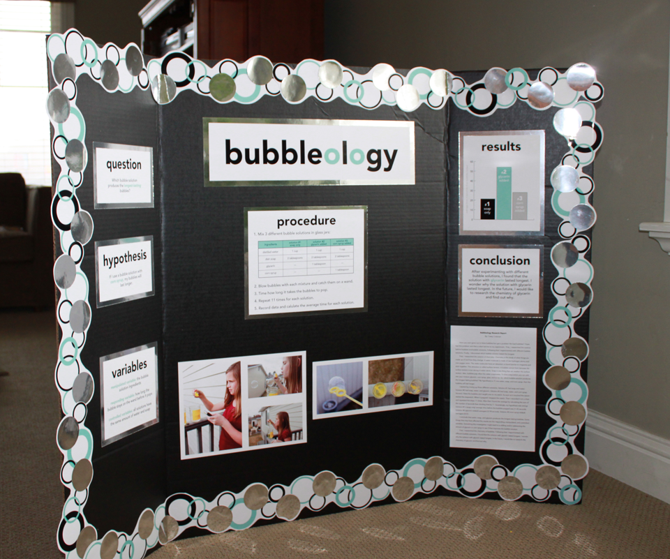 bubble gum science fair projects