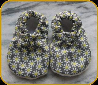 Kimono Baby Shoes - By Aimee Larsen for HomeSpun-Threads