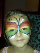 Butterfly Facepainting. Do I look like a butterfly?