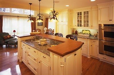 Modern furniture modern bedroom modern kitchen for Butter cream colored kitchen cabinets