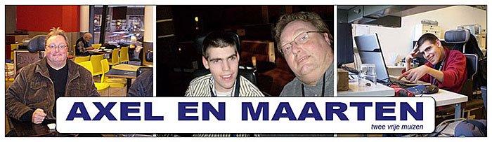 Axel en Maarten