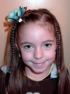 Little Girl's Hairstyles -Double Side Braid