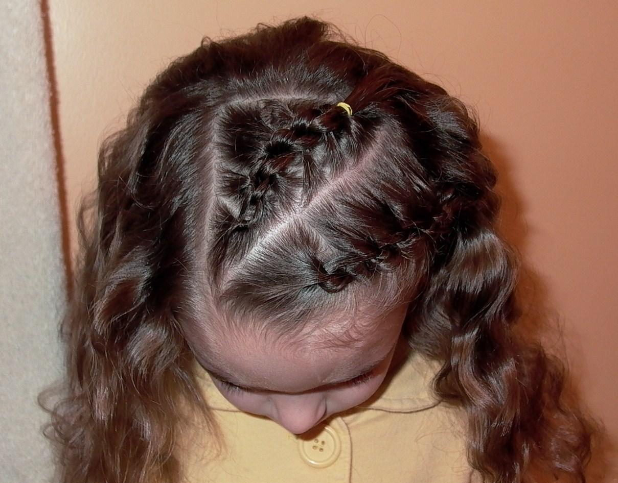 Knotted Braid Or Daisy Chain Braid