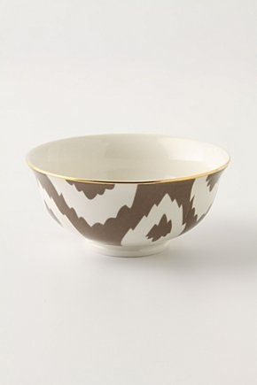 Ikat mini bowl, by Anthropologie