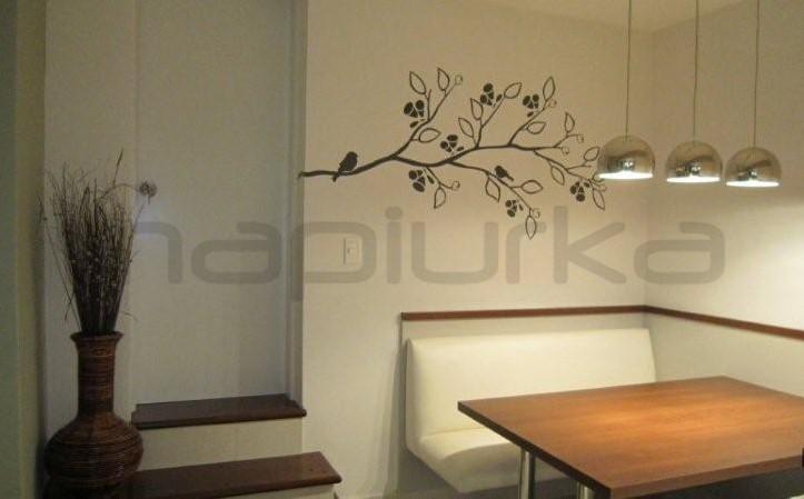 Mapiurka adhesivos decorativos ba comedor diario con for Vinilos pared comedor