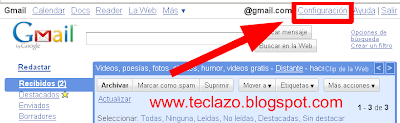 cambiar password gmail configuracion