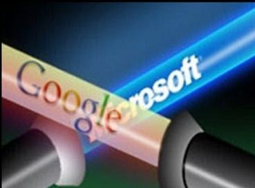 google-vs-microsoft-logo
