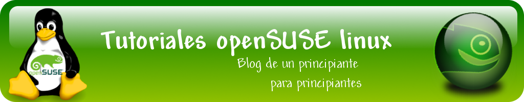 Tutoriales openSUSE