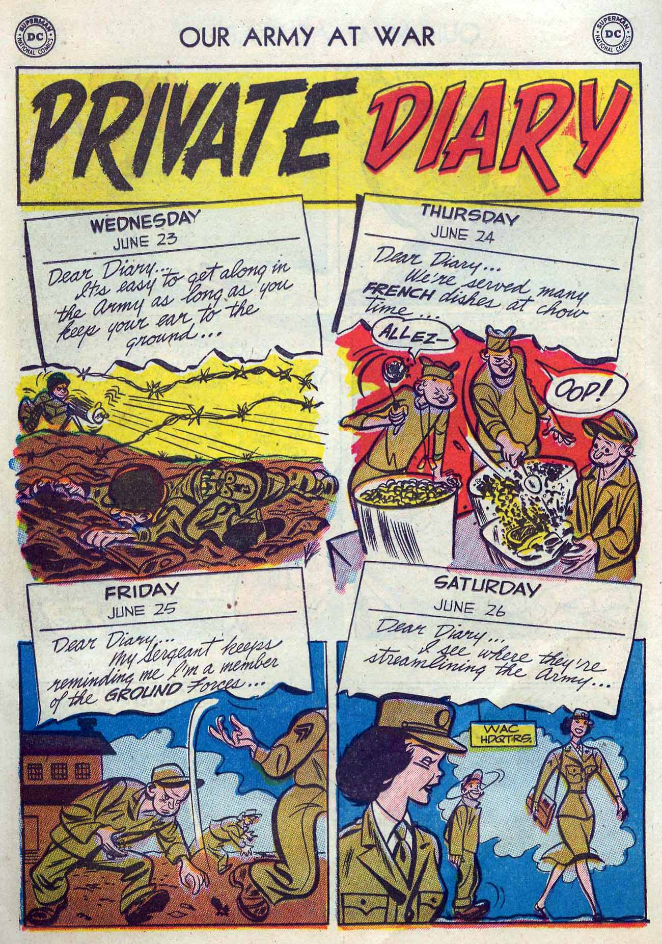 Our Army at War (1952) #2 #300 - English 26