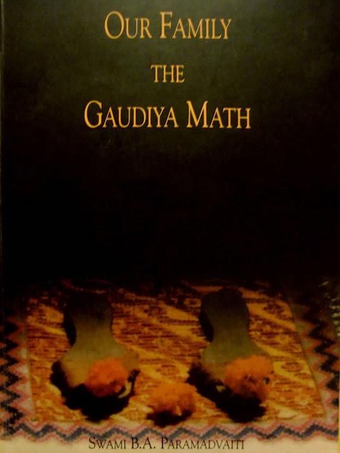 Nuestra familia la Gaudiya Math