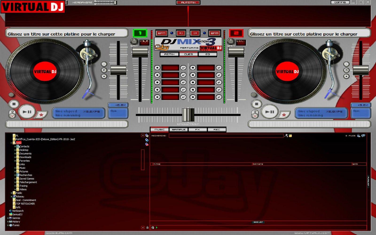 Dj mix station 3 software