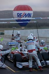 patrocinador oficina del equipo TOYOTA de F1